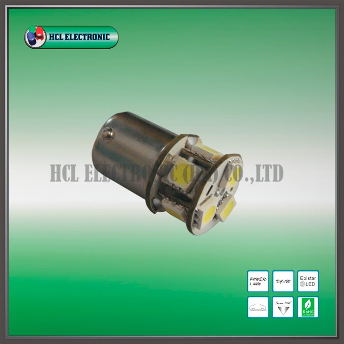 Free shipping,30pcs/lot,1156-8SMD,140-180lm,1.44W LED car bulbs/2 years warranty/CE(P21W, 7506,7507,380,1141,5007,R5W, 5008)(China (Mainland))