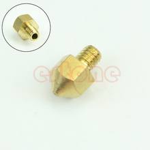 2016 Free Shipping 0.2mm Copper Extruder Nozzle Print Head for Makerbot MK8 RepRap 3D Printer