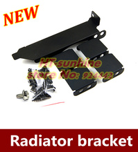 NEW   1PCS  three fan Graphics partner bracket  PCI general  8cm 9cm fan radiator  bracket with screw