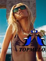 topmelon новый купальник купальник бикини цельный t172