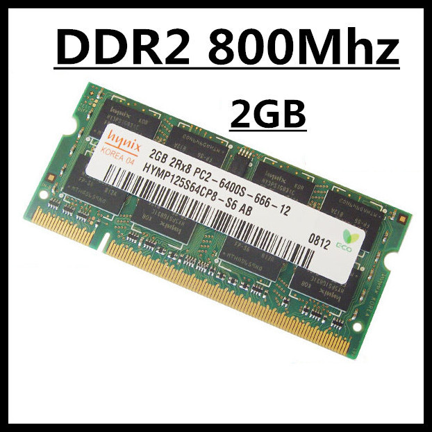 NEW laptop memory DDR2 ram 2gb 800Mhz PC2-6400S SODIMM, laptop memory DDR2 ram 2gb 800Mhz SO-DIMM, laptop DDR2 ram 2gb PC2-6400S<br><br>Aliexpress