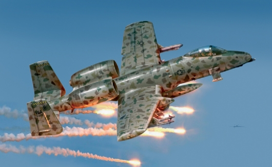 Out of print product! Italeri model 2659 1/48 A - 10A JAWS airplane model kit(China (Mainland))