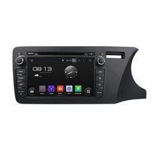 A9 HD 1024*600 Quad Core 1.6G CPU 16GB Android 5.1.1 Car DVD Player Radio GPS Navi Stereo for Honda CITY Right Driving 2014