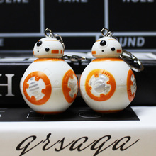Star Wars The Force Awakens BB8 BB-8 Droid Robot Action Figure PVC Pendant Toy Doll For Children