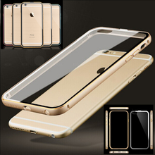 I5 Dual Layer Heavy Duty Shell Metal Aluminum Frame Flexible Hard PC Cover Crystal Transparent Clear Case For iPhone 5 5S 5G
