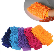 Car Washer Auto Microfiber Vehicle Car Cleaning Glove Wash Mitten Cloth Washing Mitt Brush Several Colors Gloves High Quality(China (Mainland))