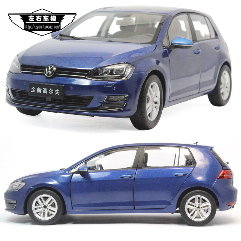 Original Volkswagen brand new golf seven GOLF 1:18 7 generation of multi - color Volkswagen car model(China (Mainland))