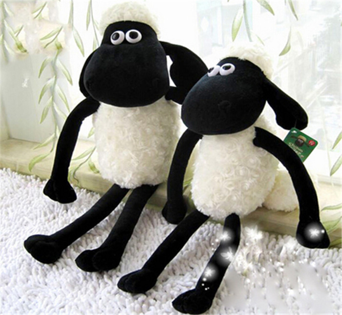 1 piece 25cm Shaun the Sheep Plush Toys Doll new with tags!(China (Mainland))