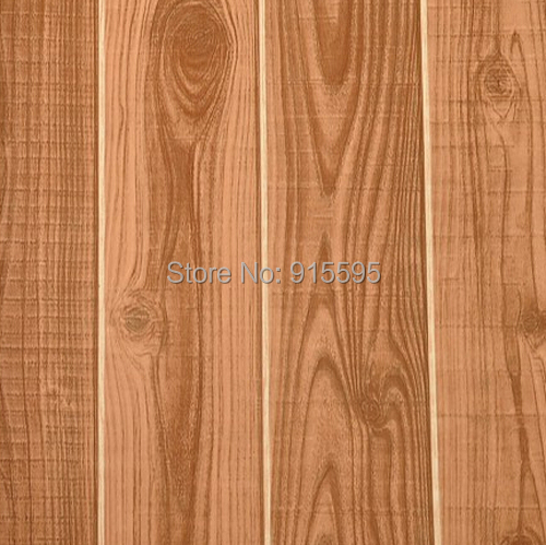 Vintage nature wood fiber pvc waterproof 3d modern design for Wall covering paper