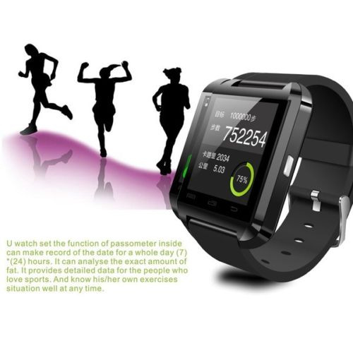 2015 New U8 U Pro Bluetooth Touch Screen Smart Wrist Sports Watch Android Mobile Phone Message Support SIM TF Card - Reliable store