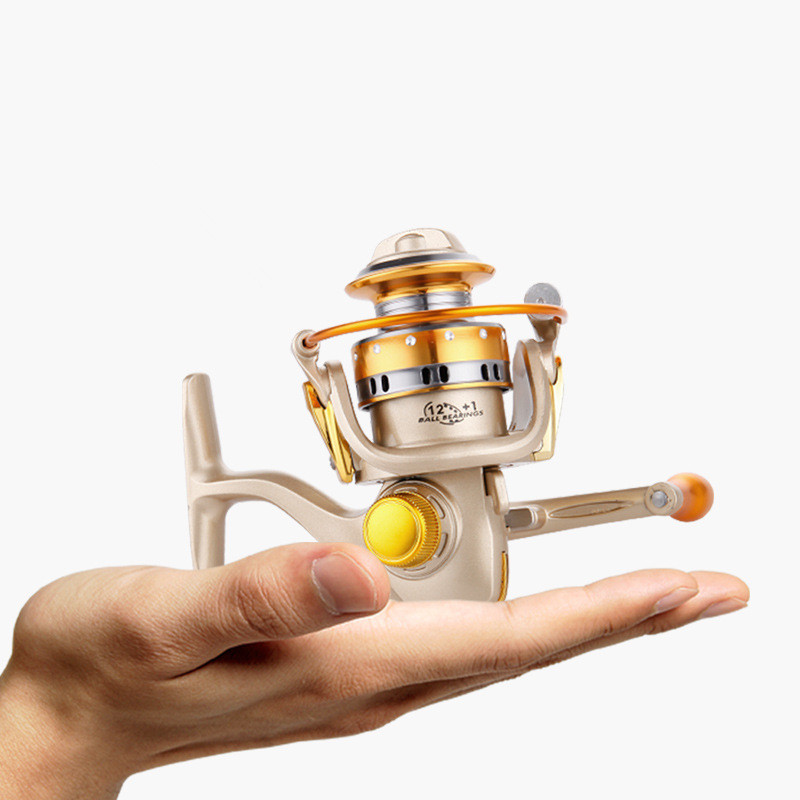 Smallest Shore Rafting Ice Fishing Reels Germany Gear Smooth 150 Series 12+1BB Spool(China (Mainland))