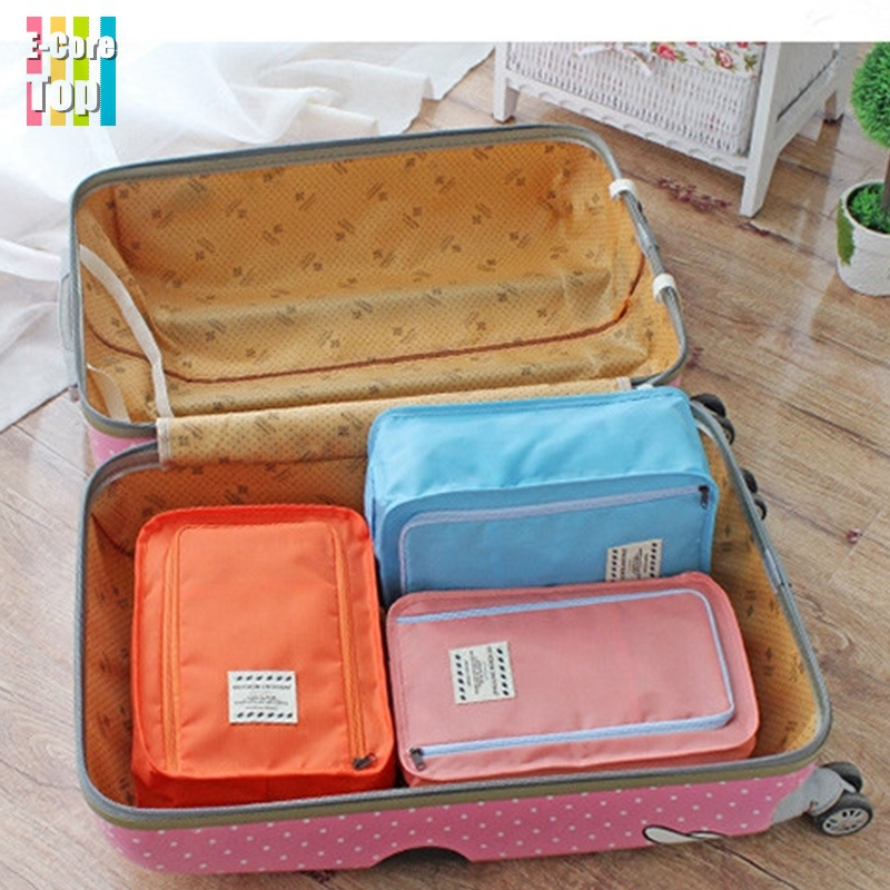 Hand Carry Cosmetic/Shoes/Organizer Bag Zipper Protect Pouch Bag Travel Storage Bag For Women Outdoor Portable Free Shipping(China (Mainland))