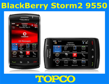 Original Blackberry Storm2 9550 Mobile Phone GSM&CDMA 3G WIFI GPS 3.2MP Touch Screen Cell Phone dropshipping(China (Mainland))