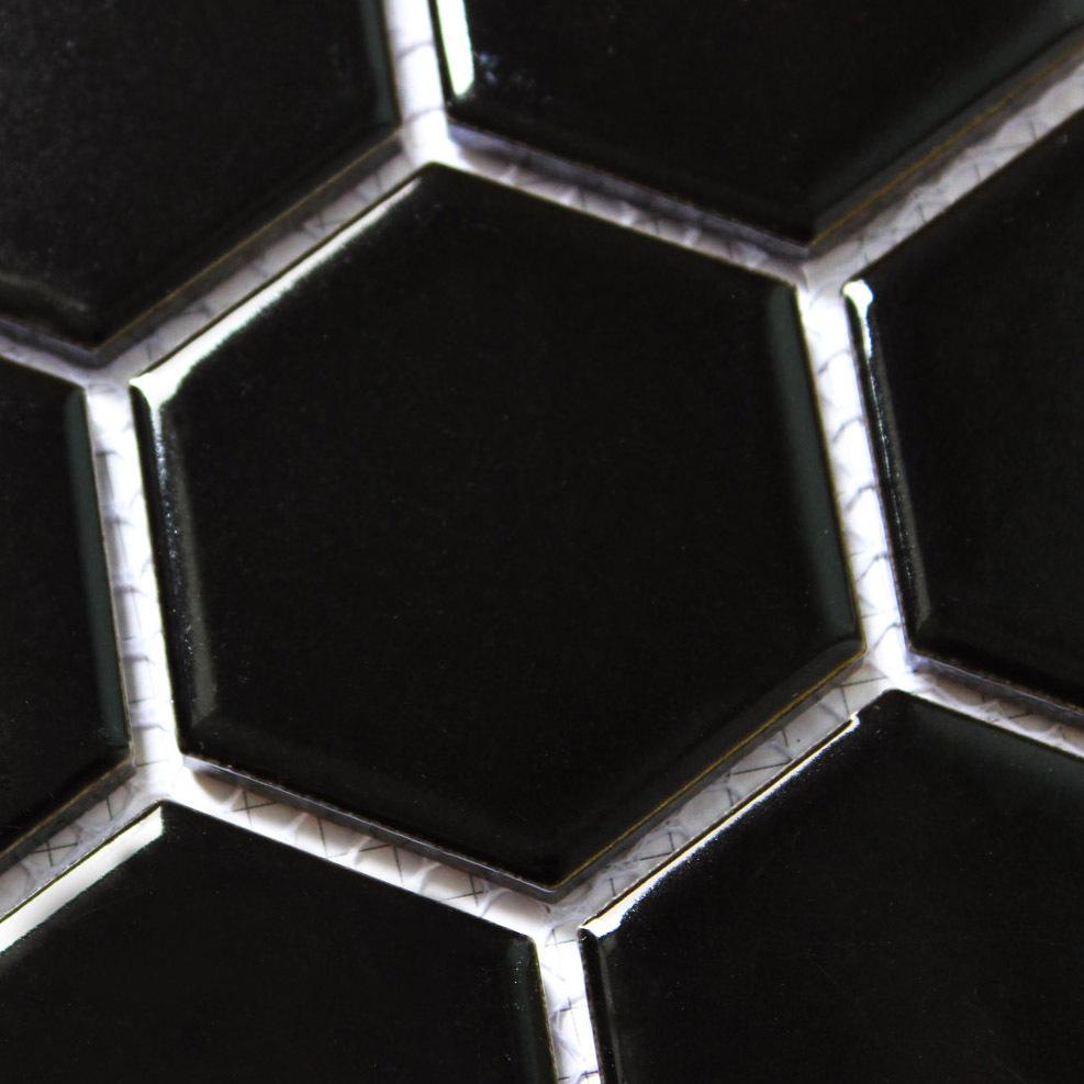 Hexagon floor tile lowes