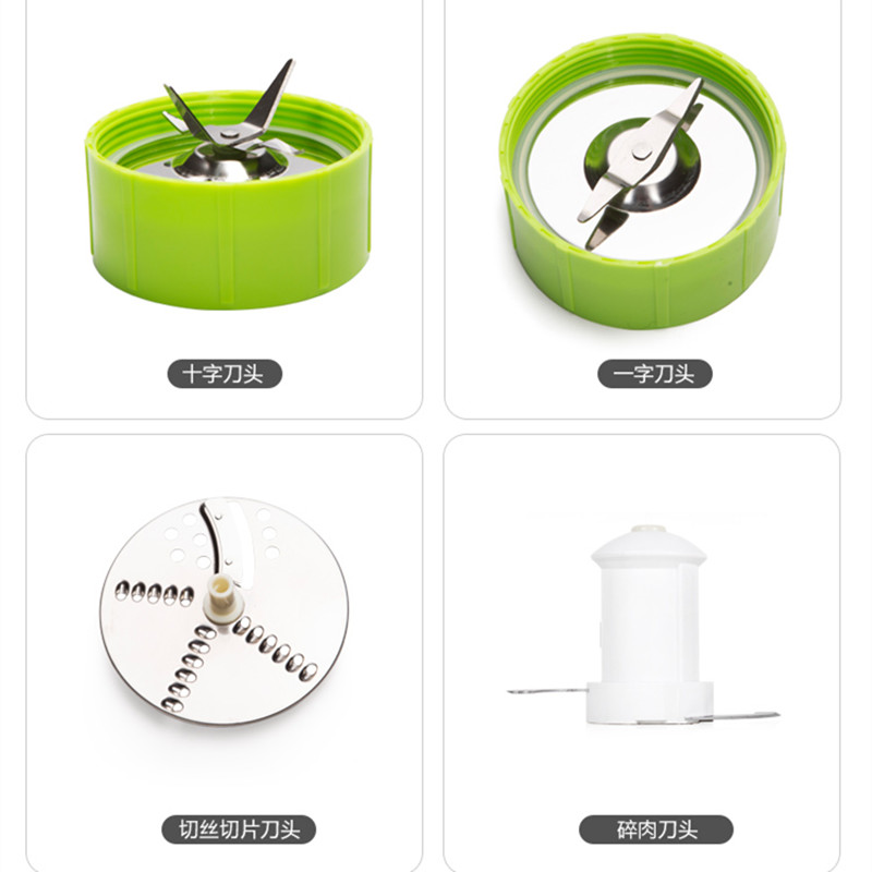 Hong food processor multi-function cooking machine grinding rice cereal fruit juice milk meat grinder - WangJianJian store