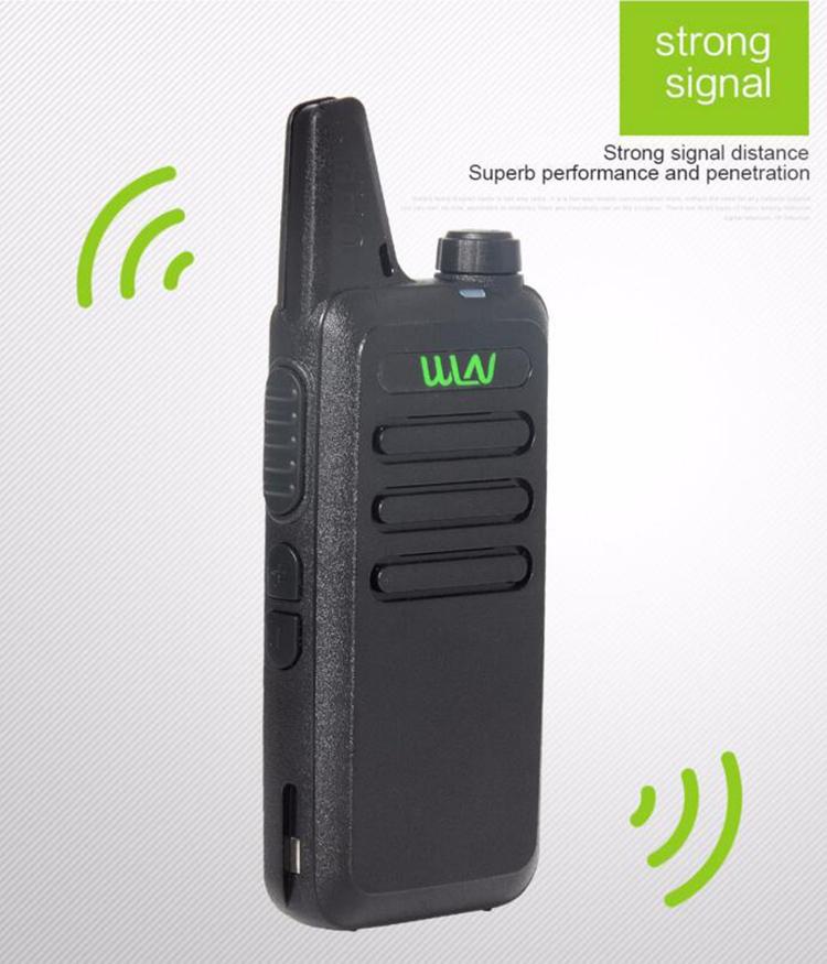 2016 Best Thin UHF 400-470Mhz Wireless Walkie Talkie WLN Kd-C1 With 5W Ham Radio Station Mini Mobile Two Way Radio Transceiver(China (Mainland))