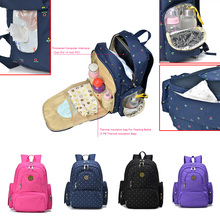 Brand New Large Capacity Multifunctional Mummy Nappy Backpack Maternity Baby Diaper care product Bags For Travel(China (Mainland))