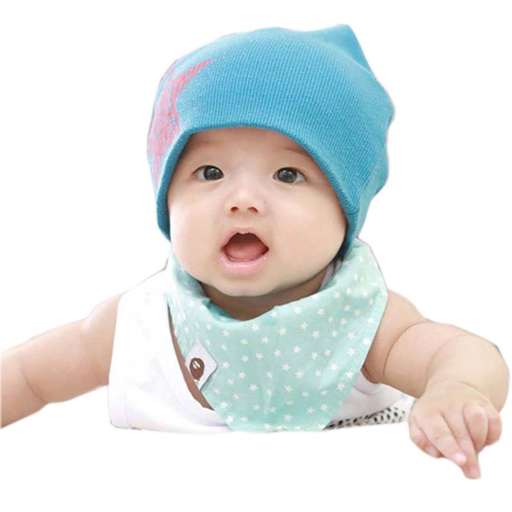 Cute Crochet Bear Hat for Infants Baby Cotton Hat Boy Girl Infant Newborn Children Soft Warm Cute Star Knitted Cap Hat 1654379(China (Mainland))