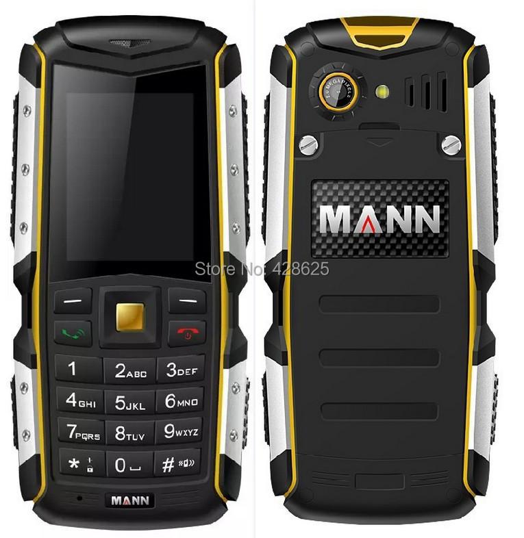 Original Mann ZUG S IP67 Waterproof Shockproof Dustproof Mobile Phone Rugged Outdoor Cell Phone 2.0MP Camera Bluetooth Russia(China (Mainland))