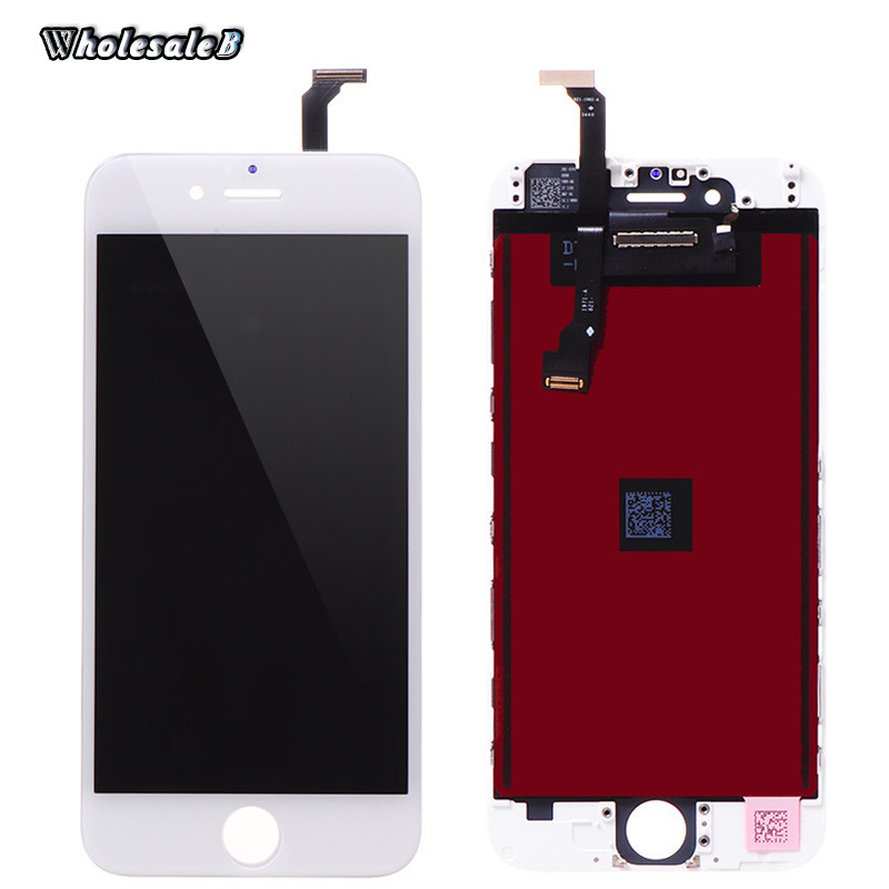 Retail White LCD Display Digitizer For iPhone 6 4.7 inch Touch Screen Digitizer Assembly Replacement for iPhone 6 6G IPH834(China (Mainland))