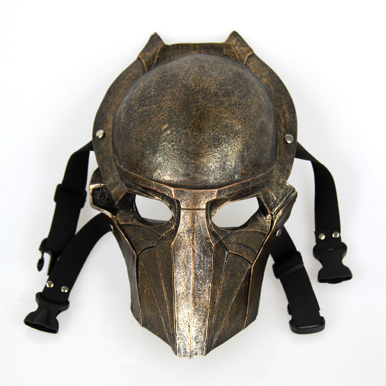 1PCS 30x20cm The new edition movie Theme Predator Mask  Eagle Resin Cosplay&Party&Halloween Mask new style