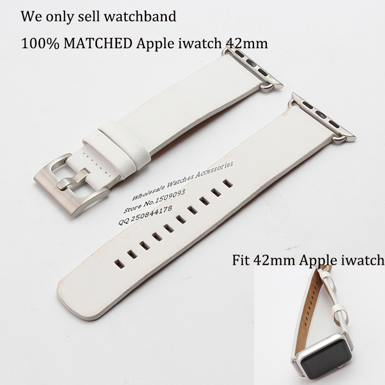 We sell only new leather watchband Strap Band with Adapters fit 42mm Apple smart Watch Replacement iwatch Accessories anytime<br><br>Aliexpress