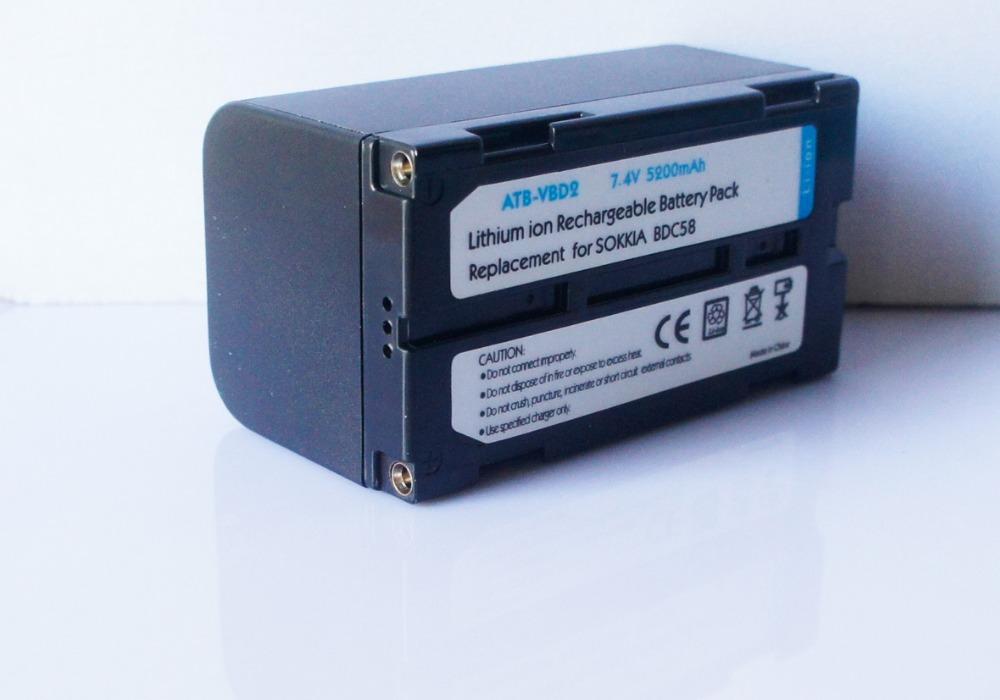 BDC58  Recharger Battery For Sokkia Surveying Equipment