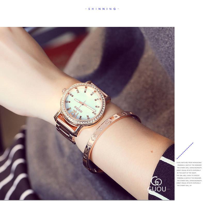 Алмазы Марка Часы Мода Мужские Часы Класса Люкс Полный Золота Нержавеющей Стали Кварцевые Наручные Часы Часы Мужчины Бизнес Платье Часы