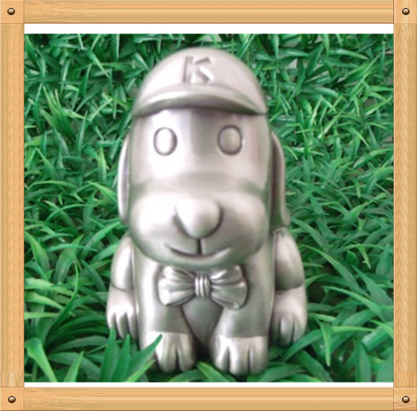 Cute Small Dog Piggy Bank Money Box(China (Mainland))