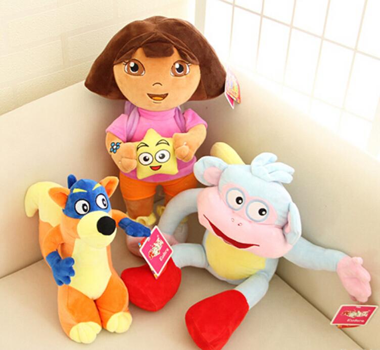 Dora Toys For Girls : Cm lovely dora the explorer with star extra large plush