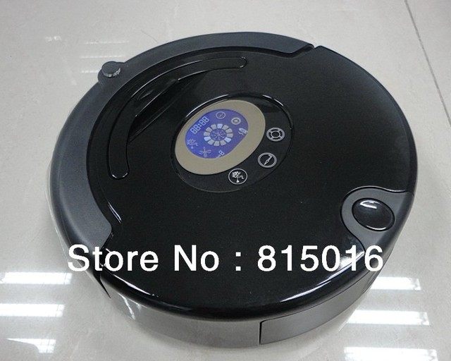 2012 Best Selling Auto Robotic Vacuum Cleaner (Sweep, Vacuum, Mop, Sterlize) LCD, Touch Button, Schedule Clean