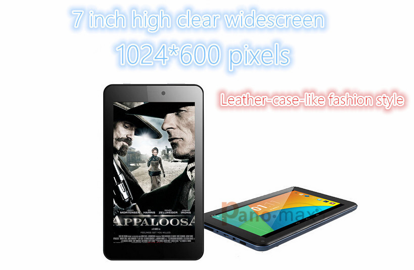 7 inch dual core Intel tablet with Intel Atom Z2520 CloverTrail 1GB RAM 8GB Storage support