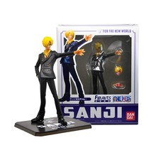Free Shipping Anime One Piece ZERO The New World After 2 Years Sanji PVC Action Figure Collection Model Toy 15cm KA0299