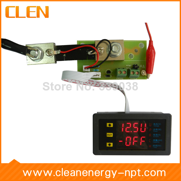 CLEN VAM7520P Adjustable Digital Voltmeter Ammeter 75V 20A Voltage Current Power Multimeter(China (Mainland))