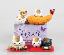 2016 Japanese Anime Figures 5cm Natsume Yuujinchou Pvc Action Figure 4pcs Cartoon Anime Toys Hot Toys Kid Gift Free Shipping