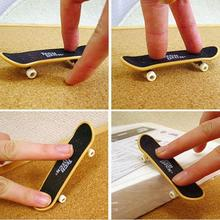 1 PCS High Quality Cute Party Favor Kids children Mini Finger Board Fingerboard Skate Boarding Toys Gifts(China (Mainland))