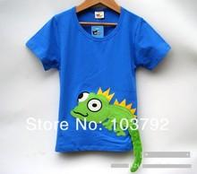 summer children boy t shirts boy kids tees(China (Mainland))