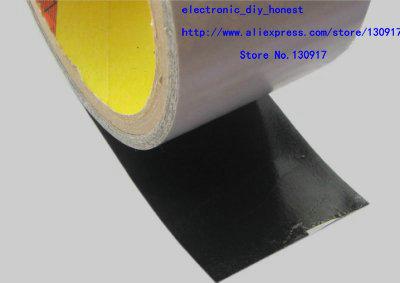 4CM 3M black heat sink (radiator) Special! 2.67per sq.100cm(China (Mainland))