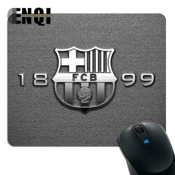 Customized Luxury Printing FC Barcelona 1899 Football Mice Mat Gaming Durable Optical Non Slip PC Mouse Pad(China (Mainland))