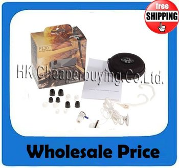 Free Shipping 5pcs/lot Genuine SoundMagic PL30 In-ear Stereo Earphone With White Color #SKU015