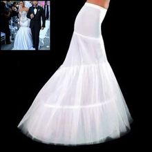 High Quality Bridal petticoats for wedding dresses 2016 New  2 Hoops White wedding accessories jupon cerceau mariage CO039 (China (Mainland))