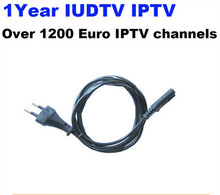1 Year IUDTV IPTV Channel 1200 Full European Channels SKY IT DE UK Welcome To Free Testing With 3RAC Cable Free Shipping