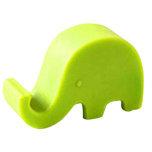 10*Elephant shaped bedside phone Mounts cell phone holder multifunction(China (Mainland))