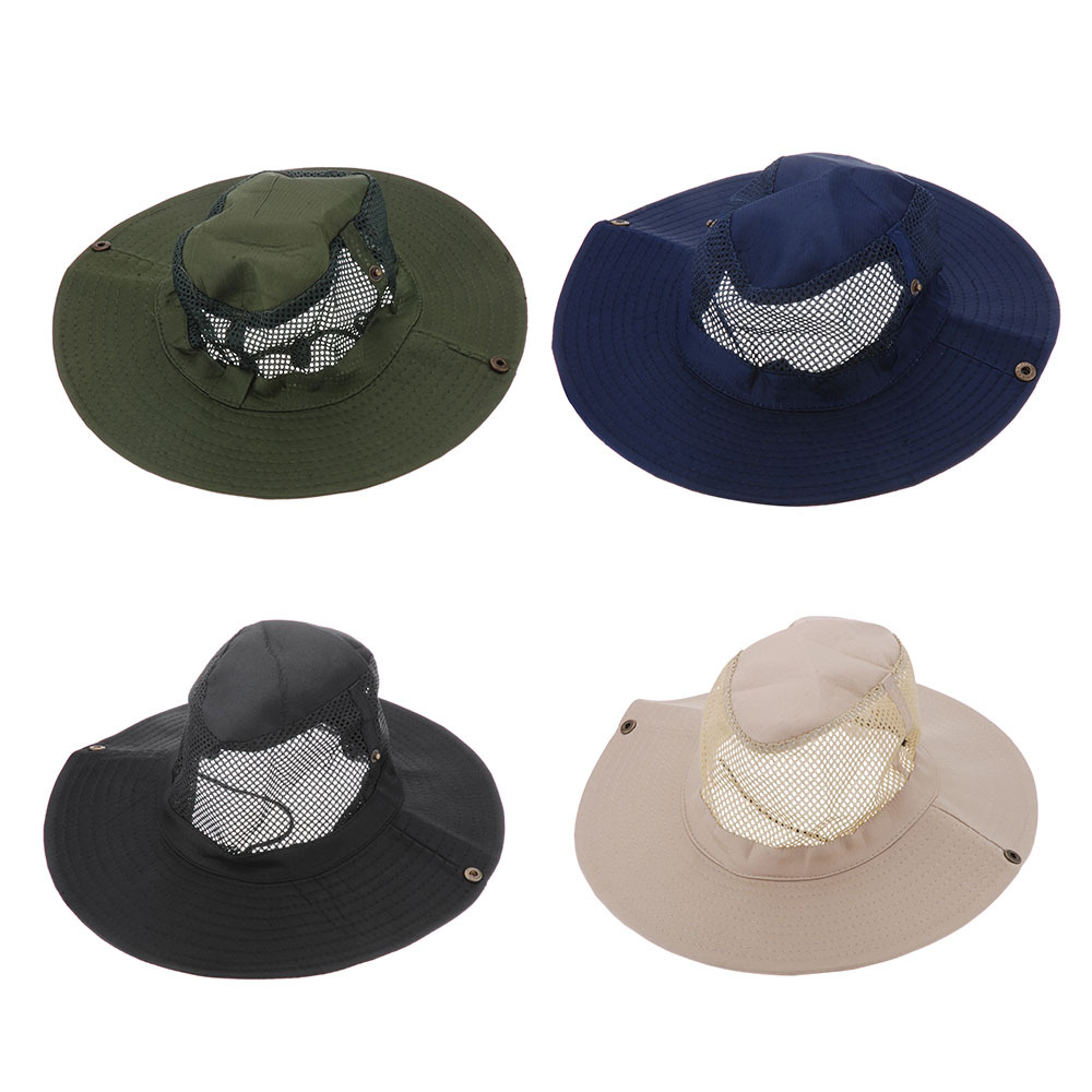 New Arrival Outdoor Camping Hiking Fishing Sun Cap Round