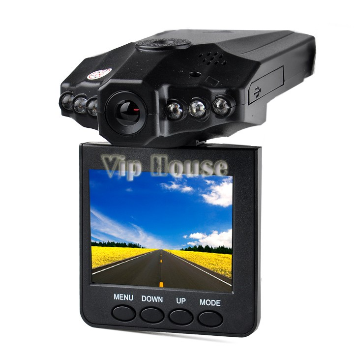 "Portable 2.5"" TFT LCD screen Car DVR 6 IR LED Night vision HD Car Video Recorder Camera with Russian Manual #7 SV000557(China (Mainland))"