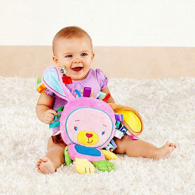 Новое поступление детские игрушки утешительно куклы с BB погремушки игрушки для ребенка 0 - 13 годы играть игрушки успокоить куклы WJ199-WJ202
