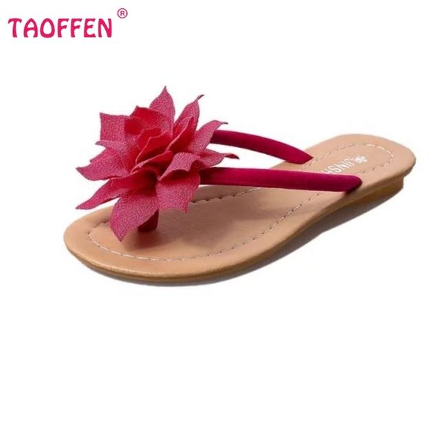 Цветок качество бренда отдыха сандалии женщин тапочки летняя мода обувь пляж вьетнамки ...