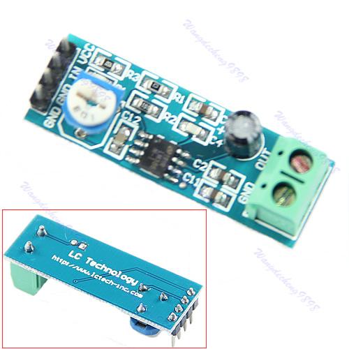 LM386 Audio Amplifier Module 200 Times 5V-12V Input 10K Adjustable Resistance(China (Mainland))