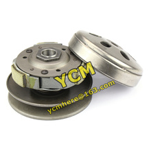 Clutch Pulley Assy Driven Wheel Pulley GY6 125 150cc Clutch Assembly Scooter Engine parts 152MI 157QMJ Mope Wholesale YCM