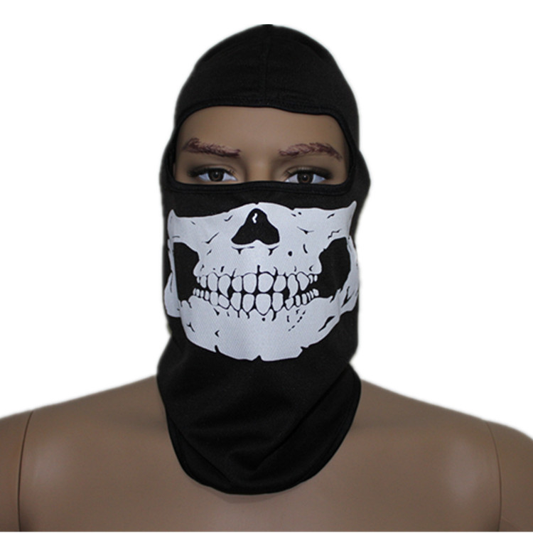 Face Mask For Motorcycle Riding Motorcycle Ride Skull Face
